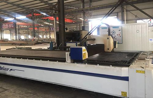 Laser sectione apparatus cnc